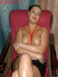 Prostitute Lina in Hungary